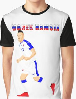 MAREK HAMSIK SLOVAKIA, EURO, VECTOR Graphic T-Shirt