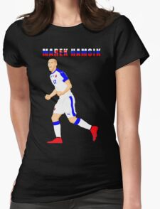MAREK HAMSIK SLOVAKIA, EURO, VECTOR Womens Fitted T-Shirt