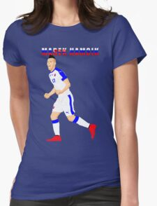 MAREK HAMSIK SLOVAKIA, EURO, VECTOR Womens Fitted T-Shirt