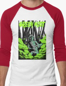 Green Mist Men's Baseball ¾ T-Shirt