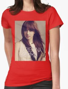 christina grimmie Womens Fitted T-Shirt