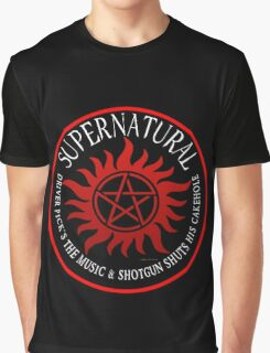 Supernatural Driver pricks the music  Graphic T-Shirt