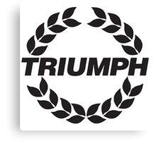 TRIUMPH MOTOR CAR 2 Canvas Print