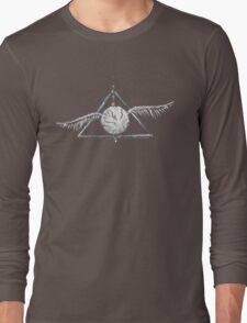 Deathly Hallows Snitch Long Sleeve T-Shirt