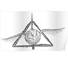 Deathly Hallows Snitch Poster