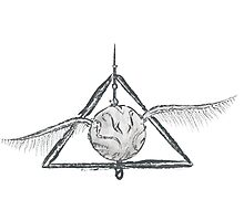 Deathly Hallows Snitch Photographic Print