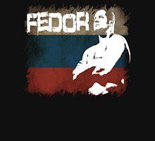 NEW FEDOR EMELIANENKO THE LAST EMPEROR RUSSIAN FLAG  Unisex T-Shirt