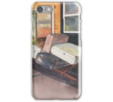 Luggage trolley iPhone Case/Skin