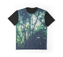 Lush Green Forestry Graphic T-Shirt
