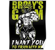 Super Saiyan Broly Gym - RB00540 Poster