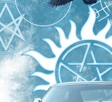 Supernatural theme 2 Sticker