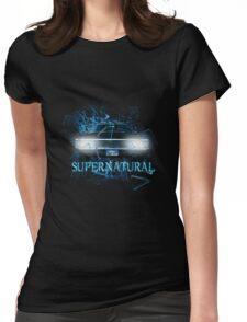 Supernatural Shatter uninverse Womens Fitted T-Shirt
