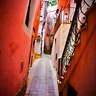 Streets of Maratea by Barbara  Brown