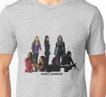Daisy Johnson through the years Unisex T-Shirt