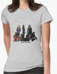 Daisy Johnson through the years Womens Fitted T-Shirt