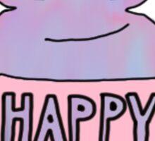 happy magic potion vial Sticker