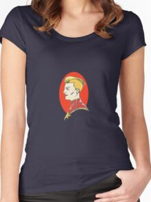 Captain Marvel Women's Fitted Scoop T-Shirt