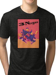 3 Ninjas-Poster Tri-blend T-Shirt