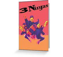3 Ninjas-Poster Greeting Card