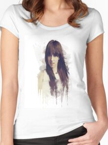 christina grimmie Women's Fitted Scoop T-Shirt