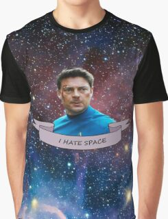 I Hate Space - Leonard McCoy Graphic T-Shirt
