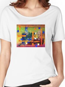 Collage on Lace Women's Relaxed Fit T-Shirt