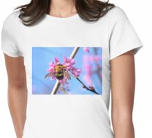 Eastern Redbud And The Bee Womens Fitted T-Shirt