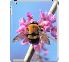 Eastern Redbud And The Bee iPad Case/Skin