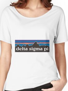 Delta Sigma Pi Patagonia  Women's Relaxed Fit T-Shirt