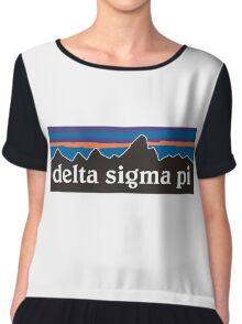Delta Sigma Pi Patagonias Chiffon Top