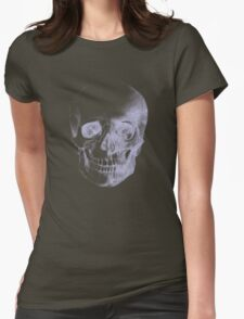 Skull X-Ray  Womens Fitted T-Shirt