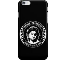 Snake Plissken (doesn't give a shit) iPhone Case/Skin