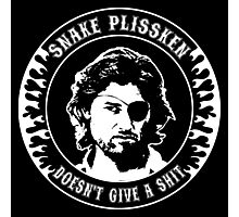 Snake Plissken (doesn't give a shit) Photographic Print