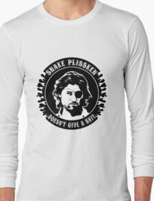Snake Plissken (doesn't give a shit) Long Sleeve T-Shirt