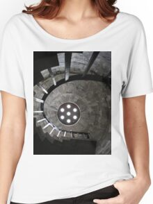 Swirl Staircase Women's Relaxed Fit T-Shirt