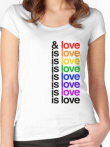 Is Love - Lin Manuel Miranda Women's Fitted Scoop T-Shirt