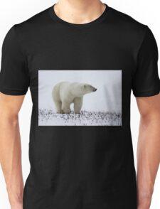 Polar Bear On The Prowl. Churchill, Canada Unisex T-Shirt