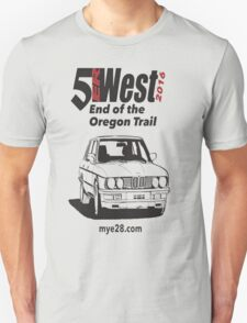 5erWest 2016 - End of the Oregon Trail Unisex T-Shirt