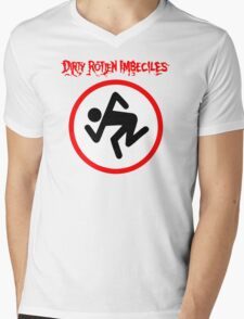 Dirty Rotten Imbeciles Mens V-Neck T-Shirt