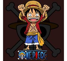 Luffy Hands up Photographic Print