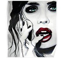 The moment she knew, byBrandon Scott-Artist Poster