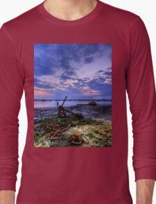 Summer Solstice Sunset Long Sleeve T-Shirt