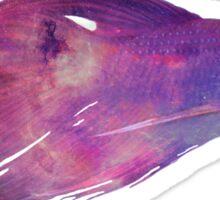 Galactic Betta Fish Sticker