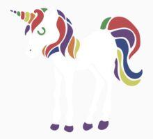 Cute unicorn Kids Tee