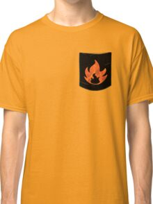 Pokemon Mondern Fire Type Pocket Classic T-Shirt