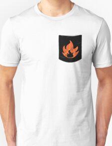 Pokemon Mondern Fire Type Pocket Unisex T-Shirt