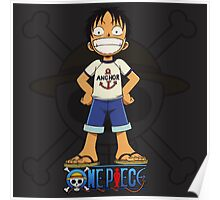 Luffy the Anchor Poster