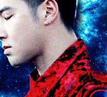 Blue Galaxy Yunho Sticker