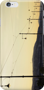 Tracks along the Danube by Amber Elen-Forbat