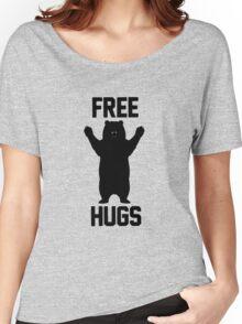 Free Hugs Bear Funny Logo Women's Relaxed Fit T-Shirt